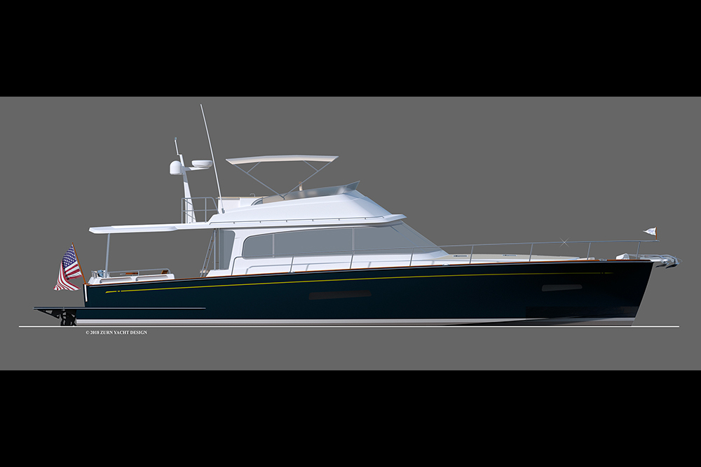 Hylas Yachts Dips Another Toe into the Powerboat Market with the M58