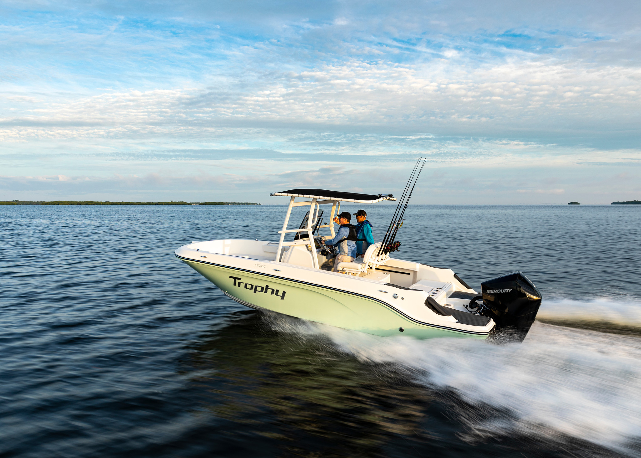 Trophy Boats Return with New Center Consoles
