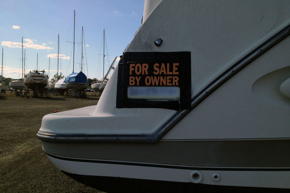 For Sale by owner boat paperwork closing the deal