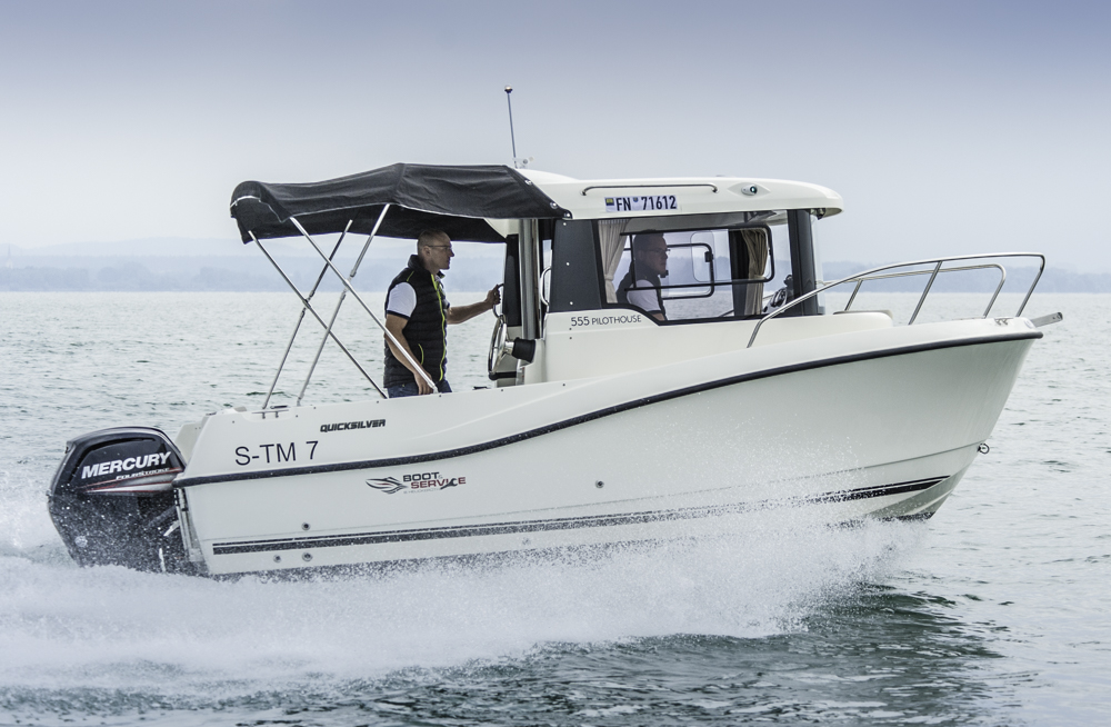 Quicksilver Captur 555 Pilothouse: Allwetter-Allrounder