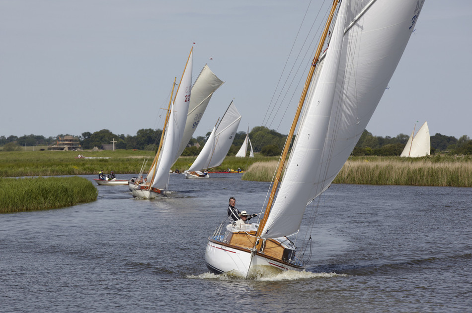 Norfolk Broads: Teil 1 - Somerleyton bis Great Yarmouth
