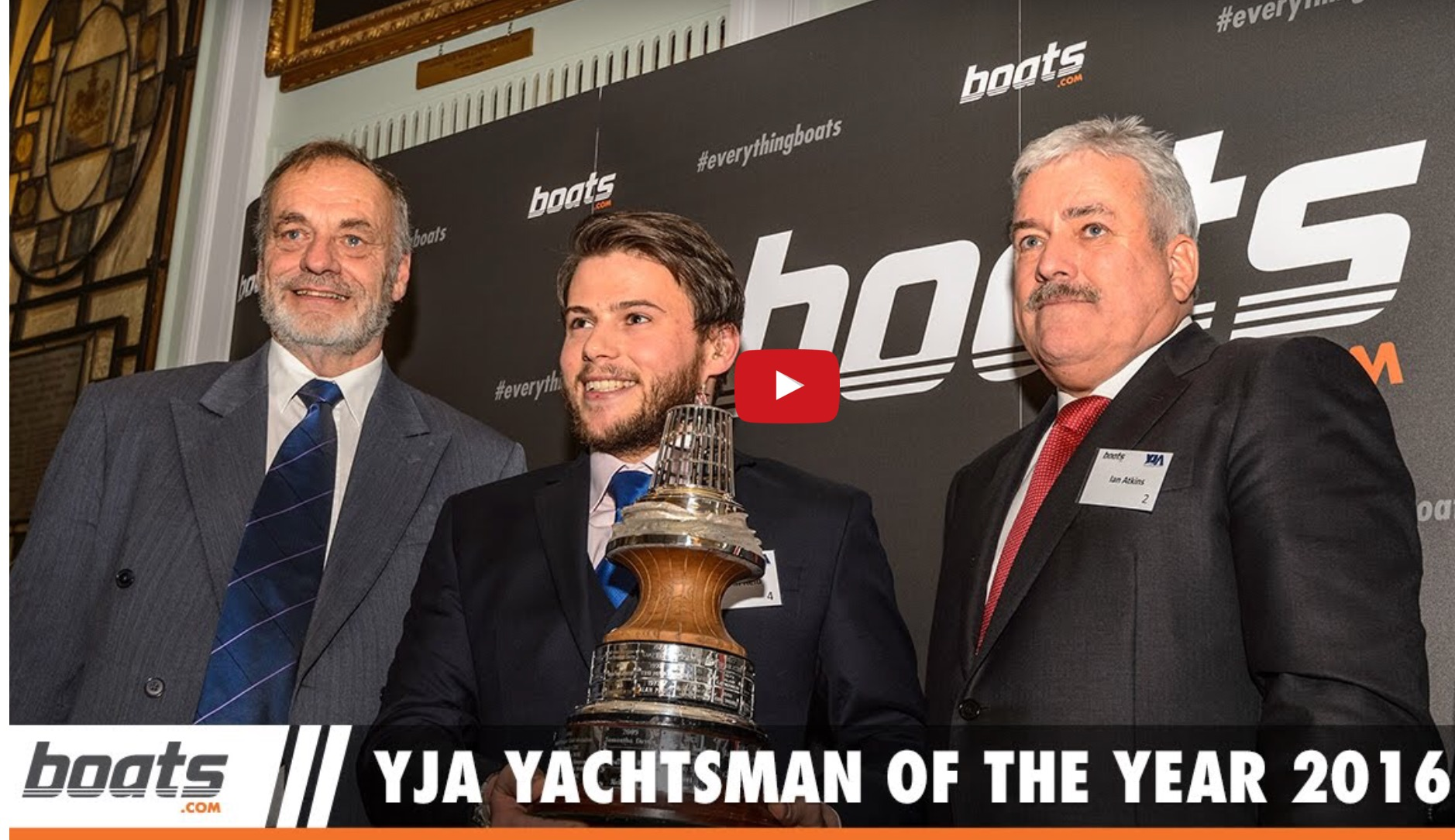 Clipper-Race-Held wird Yachtsman of the Year in England