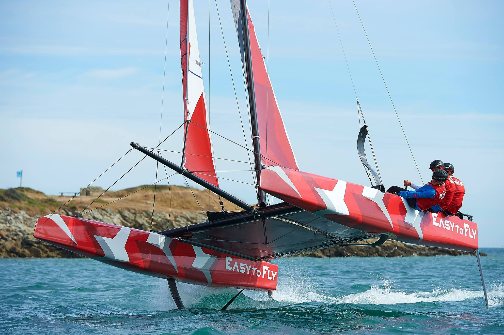 Easy to Fly Foiling Kat
