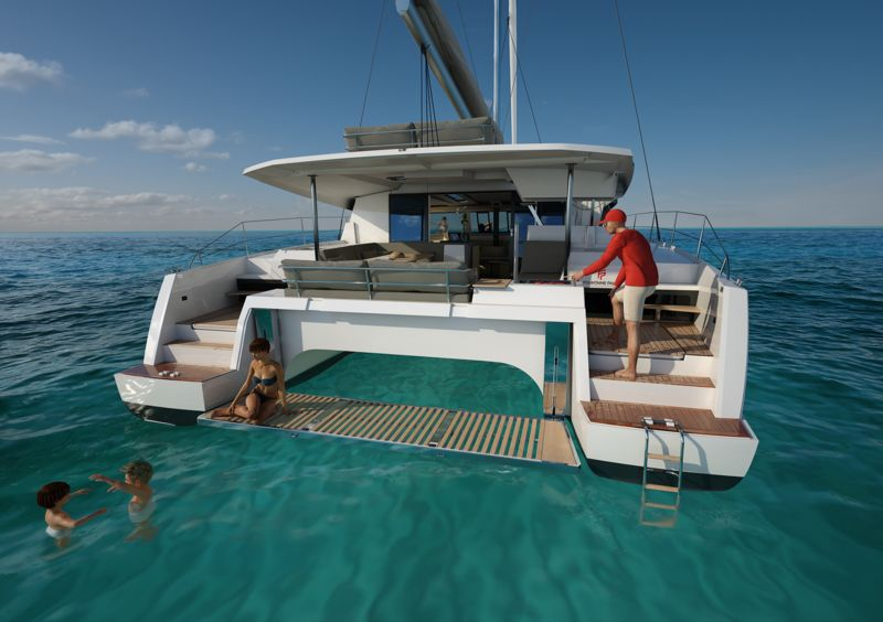 Fountaine Pajot 47: Dekadente Eleganz