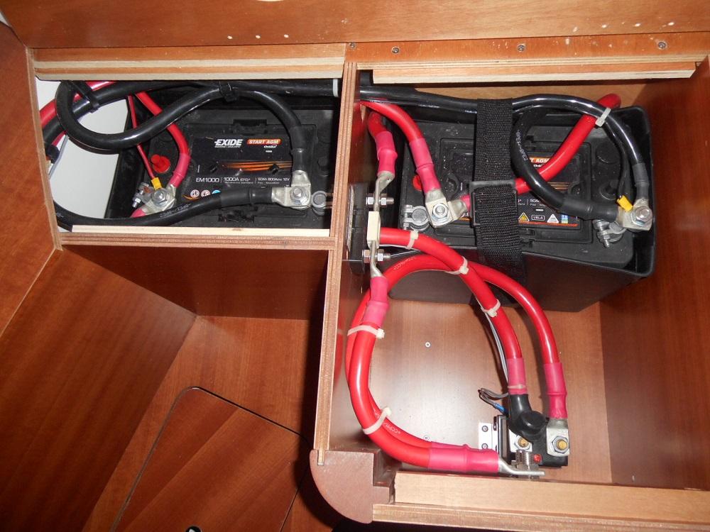 Instalaci n el ctrica del barco 12 o 24 voltios - Cable instalacion electrica ...