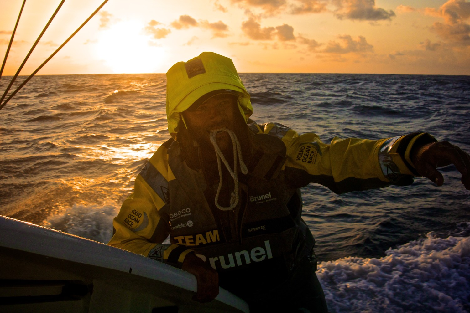 Pablo Arrarte Team Brunel VOR