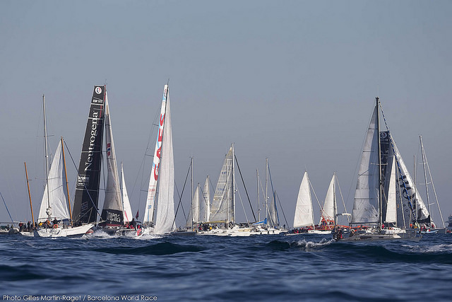 Barcelona World Race salida