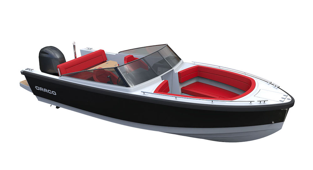 Barco a motor Draco 22 RS
