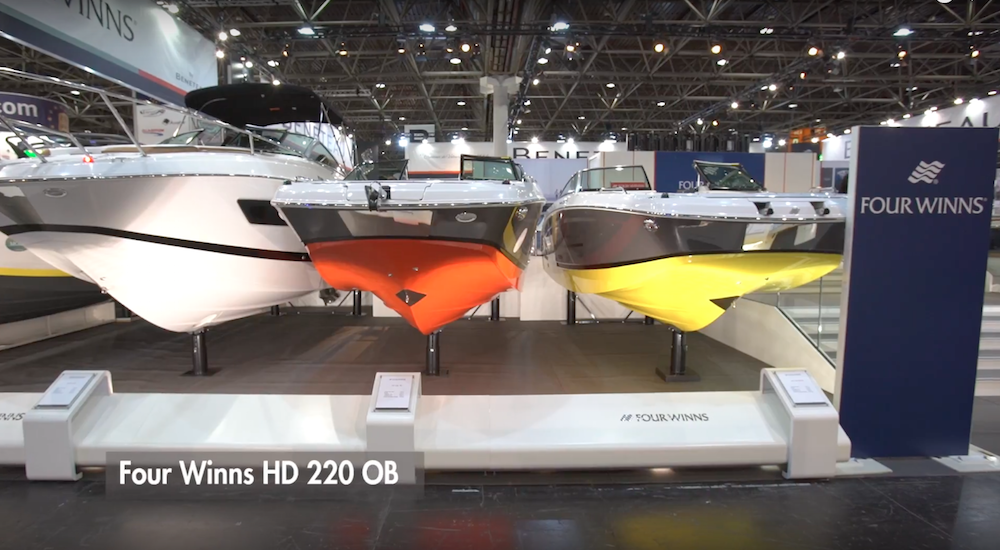 Four Winns HD 220: A primera vista | Vídeo