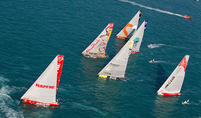 Volvo Ocean Race Abu Dhabi In-Port Race