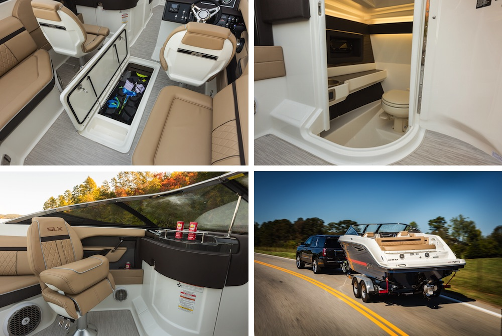 Sea Ray 250 SLX composicion