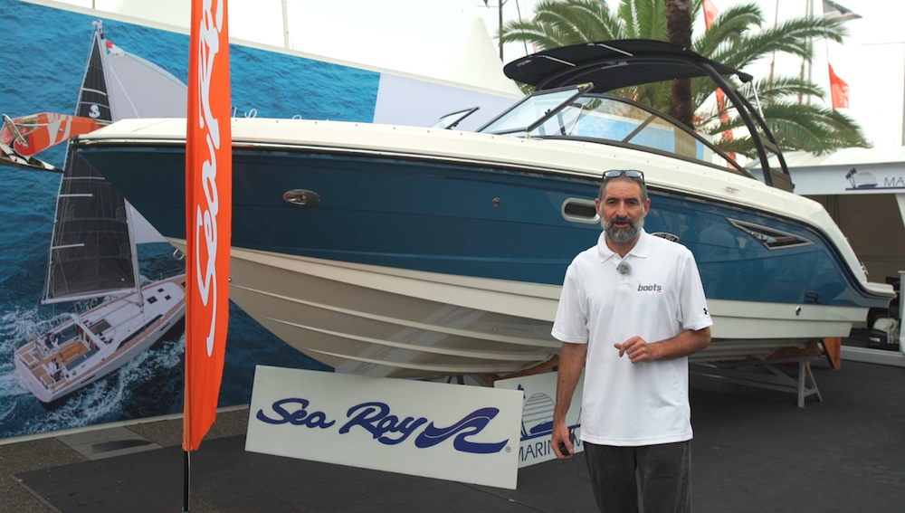 Sea Ray 250 SLX: A primera vista | Vídeo