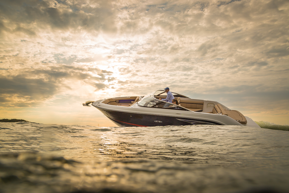 Sea Ray 250 SLX: elegante y remolcable