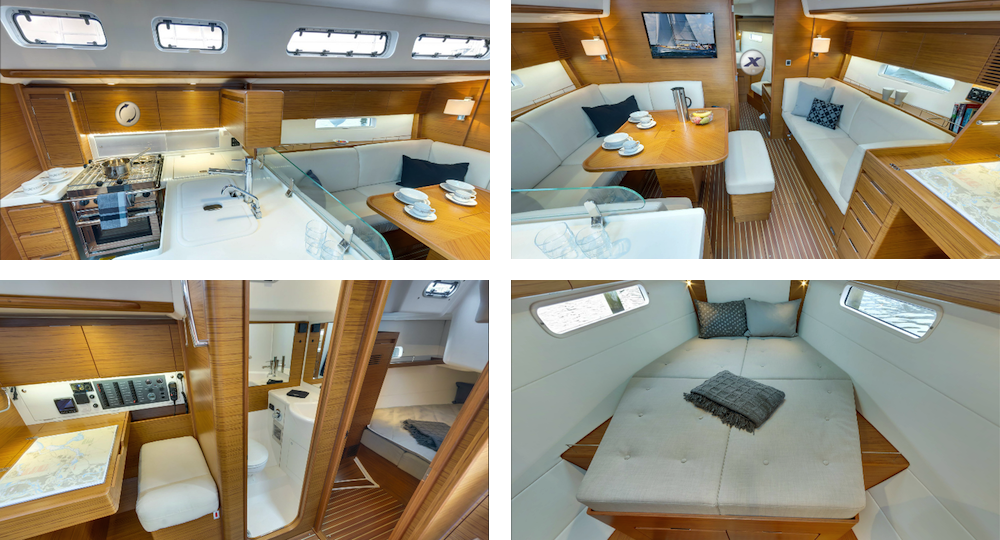 X Yachts Xc 45 Interior mix