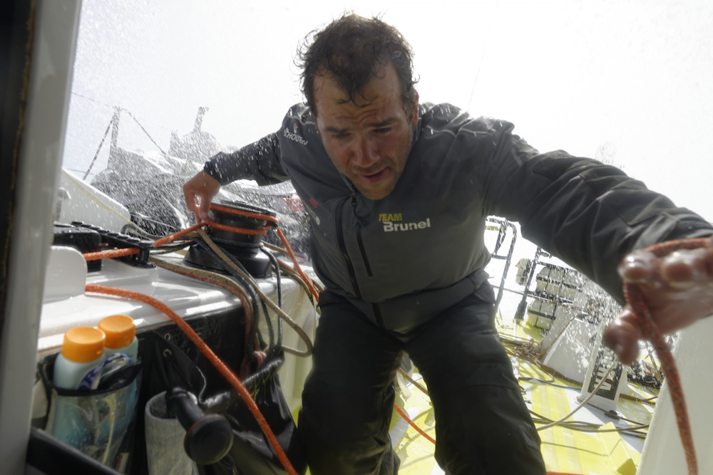 Team Brunel VOR Pablo Arrarte