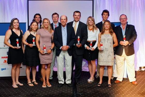 2011 USSTAG Award winners with Charlie Leighton