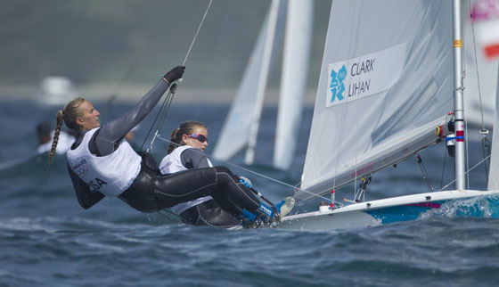 Olympic Update: USA 470 Women Hook into Weymouth