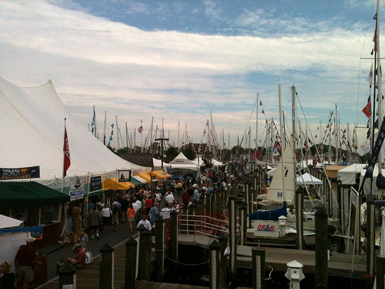 Docks at the show