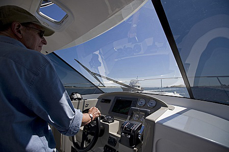 Arrowcat 30 helm area