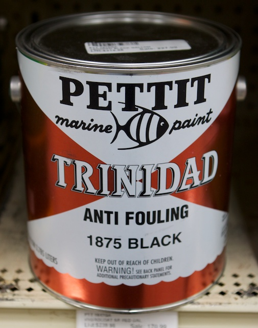 Pettit's Trinidad is one of the best modified-epoxy bottom paints available on the market. Photo by Gary Reich.