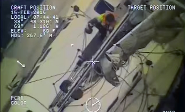 Coast Guard rescues Australian sailors