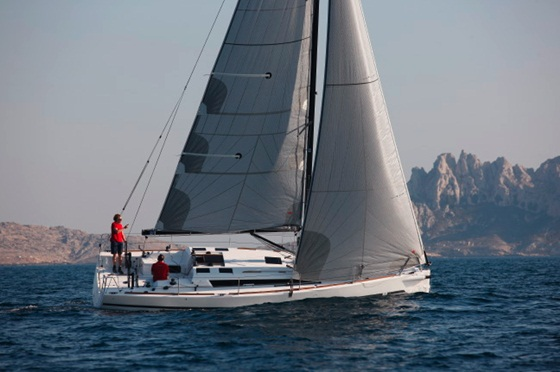 Winner, Performance Cruiser: the Dufour 36.