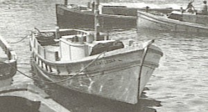 picture of an old Lapara fishing craft.