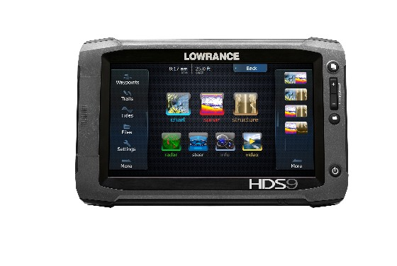 side scan hds fishfinders