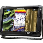 Lowrance Touch screen