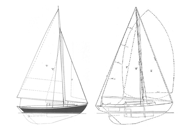 Marlin sailboat comparison