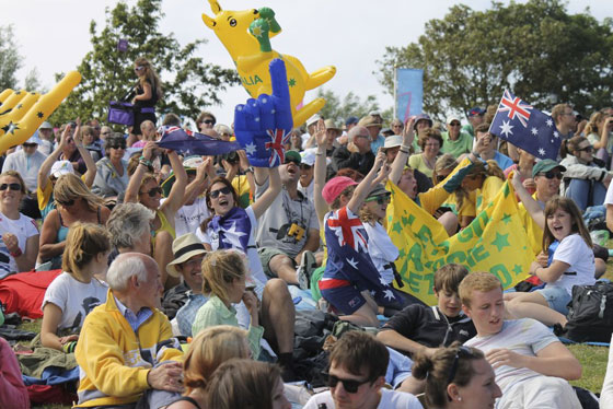 Olympics 2012 Nothe crowds