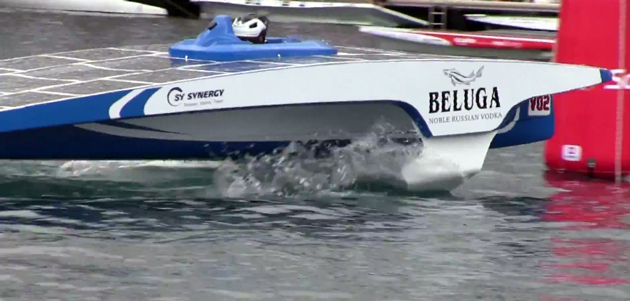 Team Beluga captured the fleet and sprint racing.