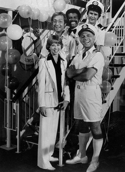 A photo of The Love Boat cast.