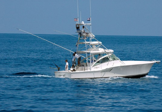 The Albemarle 410XF remains a hard-core fishing boat, first and foremost.