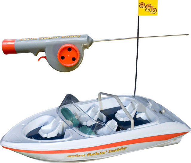 Fishing friday wacky tackle for Remote control fishing boats
