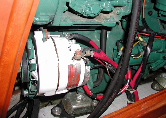 high-output alternators like this balmar model work well with absorbed  glass mat (agm