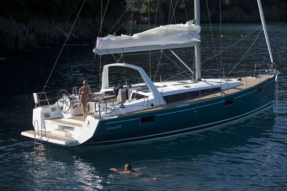 Beneteau Oceanis 48 Takes Two Awards in Miami