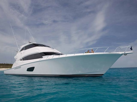 The Bertram 800 offers a new dimension in offshore fishing luxury.