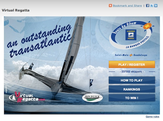 Join the Boats.com version of the Route du Rhum, an online multi-player game by VirtualRegatta.com