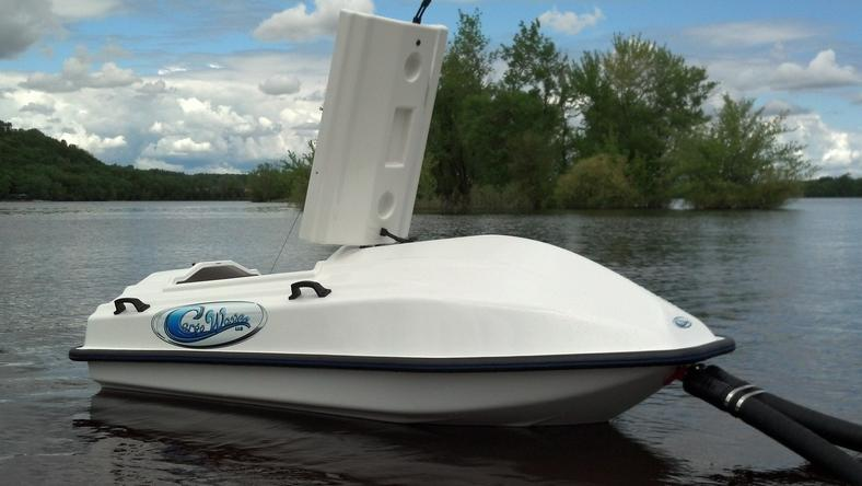 Cargo wave towable storage for your personal watercraft for Boat garage on water