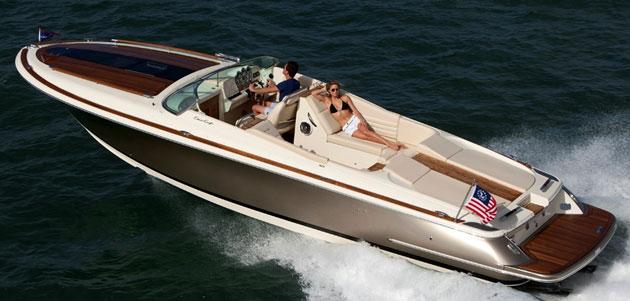 Chris-Craft Corsair 32 to attract a man who's beautiful on the inside, too