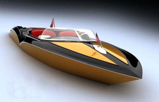 Danalevi Powerboats Go Retro
