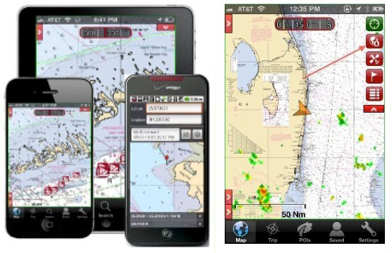 EarthNC version 3.1 is the latest way to turn your cell phone into a chartplotter.