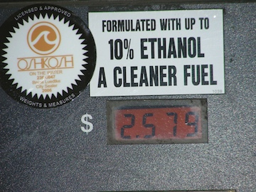 Ten-percent ethanol tags may soon have 15-percent tags at the next pump over.