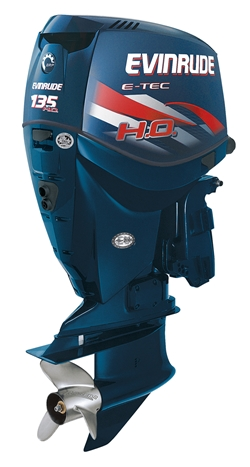 New evinrude e tec 135 h o aims for 150 performance level for Yamaha vmax outboard review