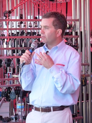 Harken CEO Bill Goggins