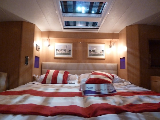 The Gunfleet 43 master cabin