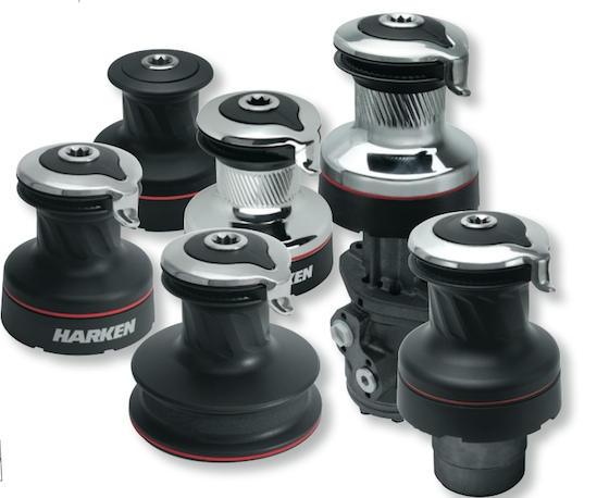 Harken Radial winches