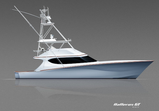 Hatteras 60 GT: Crush and Run