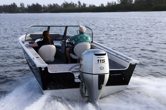 New Honda BF115 Outboard Hits Dealers - boats com
